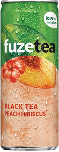 Foto Fuze Tea Black Tea Peach 25Cl