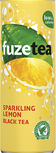 Foto Fuze tea black sparkling 25Cl